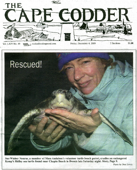 Cape Codder 4 Dec 09 Front Page 480