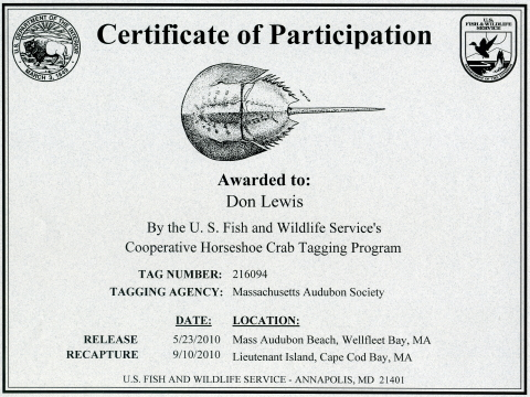 Fish and Wildlife HSC Certificate 480